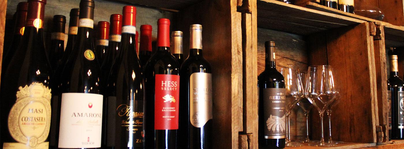 Brick N Fire Wine List