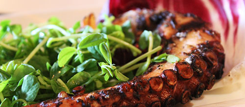 Our Head Chef at Brick N Fire restaurant in Bradfordhas created a menu of dishes using the finest seasonal produce.